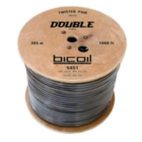 Витая пара BiCoil DOUBLE UTP Cat.5e 4PR CCA 0.51 мм